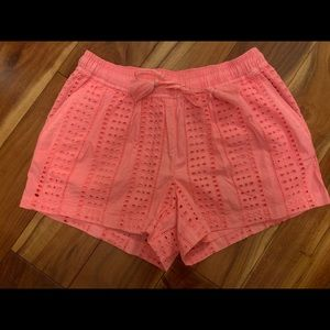 NWT Vineyard Vines Sea Spray Eyelet Pull-On Shorts